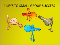 4 keys to small group success