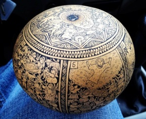 Story Gourd from Peru